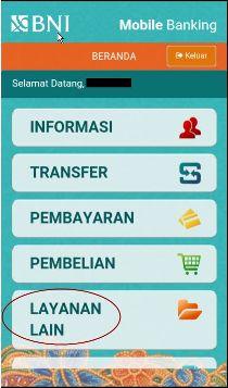 Request Vcn Bni Syariah Via Aplikasi Mobile Banking Al Farisi